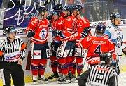 HC Vítkovice Ridera - Bílí Tygři Liberecradost, gól, autorem gólu David Květoň