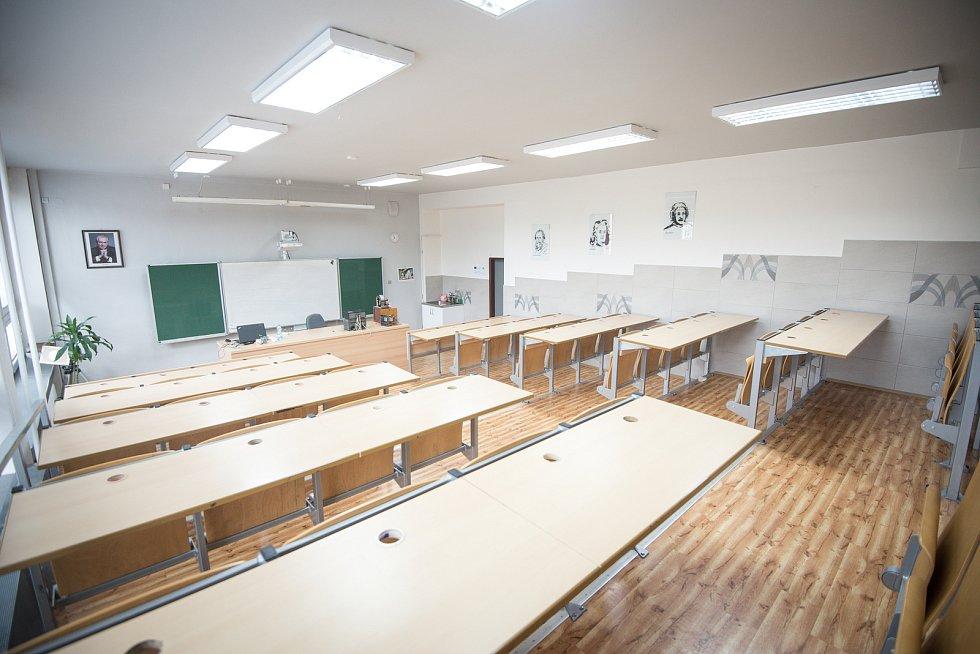 Matiční gymnázium v Ostravě. Ilustrační foto.