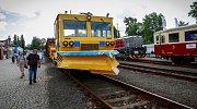 Veletrh Czech Raildays 2017 v Ostravě.