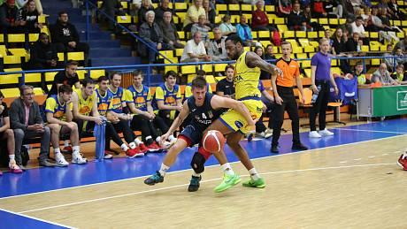 Sluneta Ústí nad Labem - NH Ostrava 86:72, 2. kolo KNBL (sezona 2021/2022).