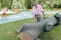 Nedávno zrekonstruovaný třebovický park se připravuje na první velkou akci, která se tu bude konat od 14. září – Třebovický koláč.