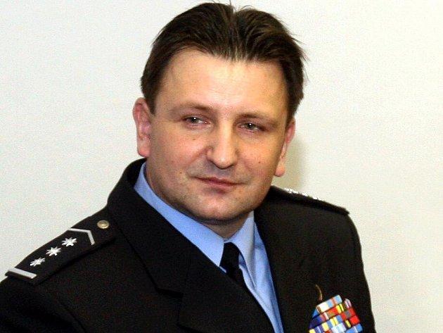 Ředitel moravskoslezské policie Tomáš Tuhý.