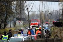 K výbuchu plynu došlo v areálu kunčické huti ArcelorMittal.