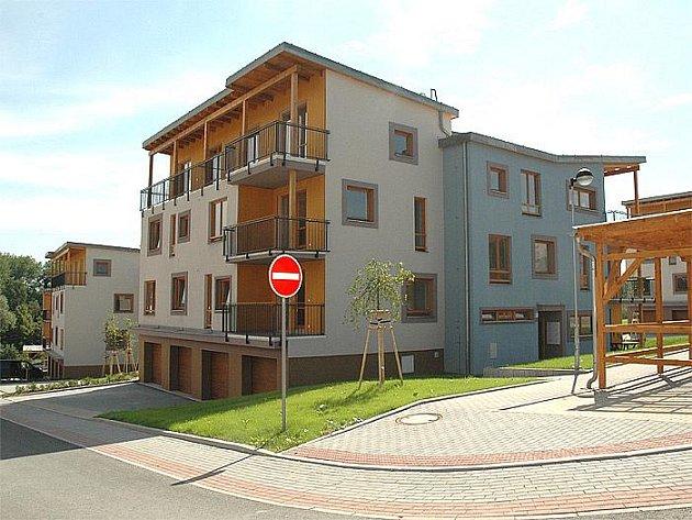 Nové nadstandardní byty v Ostravě-Heřmanicích.