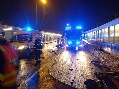 Dne 6. dubna,  byla po druhé hodině ranní oznámena havárie vozu BMW, který měl řídit dvacetipětiletý muž po ulici Opavské v Ostravě. Pravděpodobně v důsledku nesprávného způsobu jízdy a nepřizpůsobení rychlosti došlo pak k nehodě vozu v prostoru mostů.