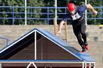 Hasiči měřili síly při Beskydském poháru na městském stadionu v Ostravě-Vítkovicích