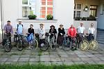 Klub českých velocipedistů Moravan z Ostravy - Hrabůvky se v sobotu vydal na šedesátikilometrovou vyjížďku po Brušpersku.