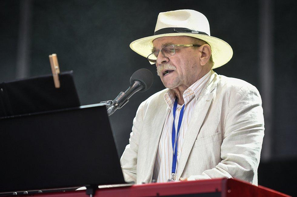 Hudební festival Colours of Ostrava 2018 v Dolní oblasti Vítkovice, 19. července 2018 v Ostravě. Na snímku Jaroslav Uhlíř.