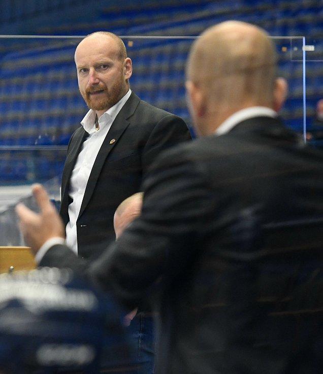 Asistent trenéra Vítkovic Radek Philipp - 29. kolo Tipsport Extraligy HC VÍTKOVICE RIDERA - HC Oceláři Třinec, 26. prosince 2020 v Ostravě.