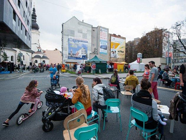Sousedské slavnosti v Ostravě. Ilustrační foto.