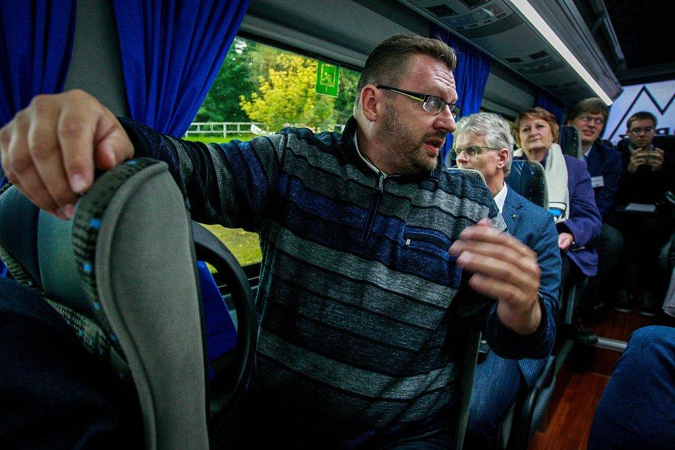Lubomír Volný v netradiční předvolební debatě Deníku v říjnu 2017.