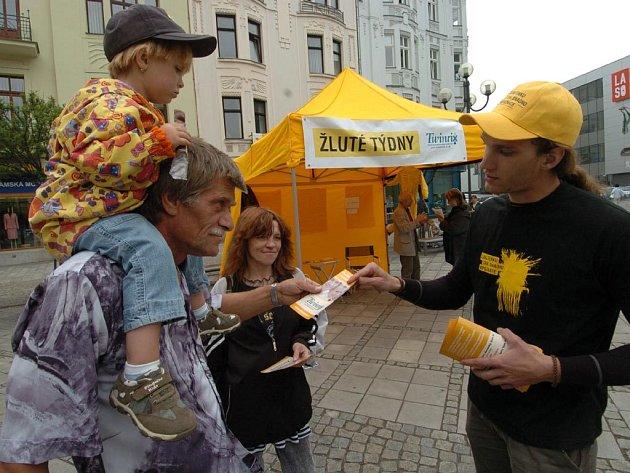 Žluté dny v Ostravě
