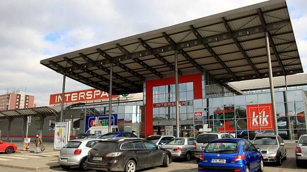Obchodní centrum Interspar v Ostravě-Dubině.