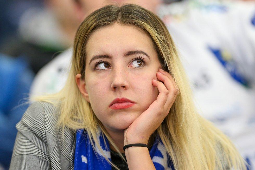 Utkání 3. kola hokejové extraligy: HC Vítkovice Ridera - Bílí Tygři Liberec, 20. září 2019 v Ostravě.