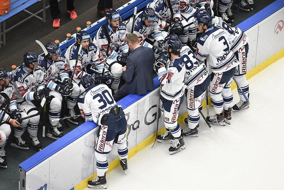 Třináct zápasů už nevyhráli hokejisté Vítkovic za tři body a postupně se propadli na 12. místo extraligy.