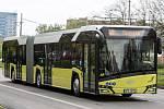 Nízkopodlažní autobus Solaris Urbino N 18.