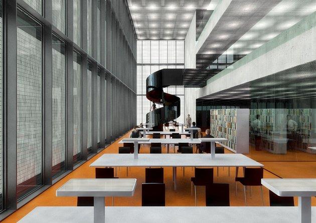 Černá kostka - vědecká knihovna