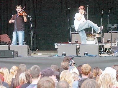 Vystoiupení Gypsy.cz na festivalu Colours of Ostrava