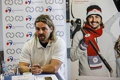 Ambasador projektu a bývalý hokejista David Moravec.