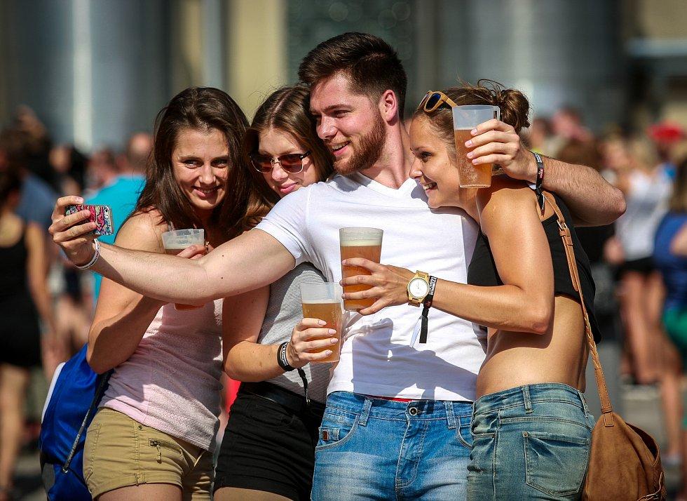Pivní slavnosti pivovaru Ostravar.