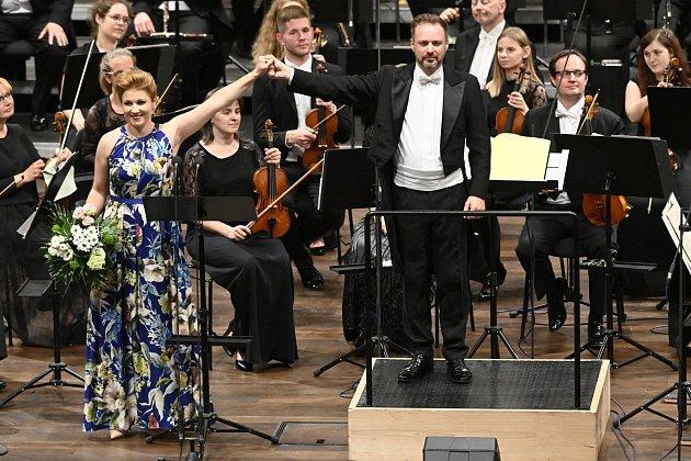 Zkoncertu sJanáčkovou filharmonií Ostrava