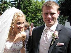 Půl hodiny před polednem se v sobotu 19. července oženil hokejový útočník Vítkovic, dvojnásobný mistr světa a finalista Stanleyova poháru Václav Varaďa (32 let). V kopřivnickém kostele svatého Bartoloměje řekl ano přítelkyni Renátě Šeré (24).