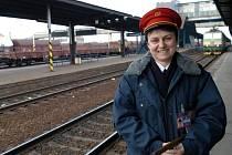 Výpravčí Eva Zugová