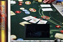 Místo činu. V tomto kasinu se cizinci pokusili podvodným způsobem rozbít bank.