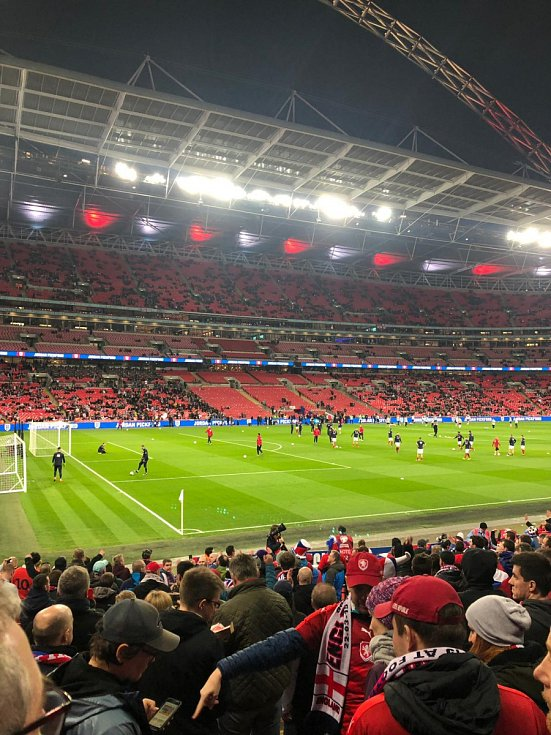 Libhošťané ve Wembley.