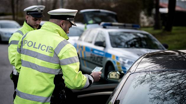 Kontrolní akce policie v Ostravě. Ilustrační foto.
