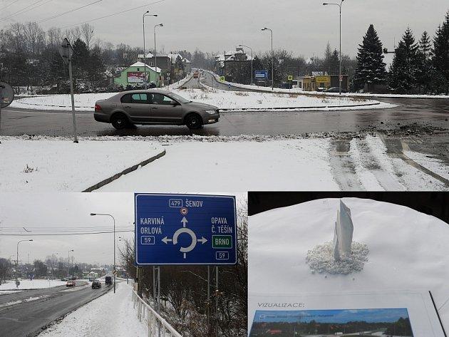 Kruhový objezd ulic Fryštátské a Těšínské bude mít novou podobu. O ní v těchto dnech rozhodují obyvatelé obvodu.