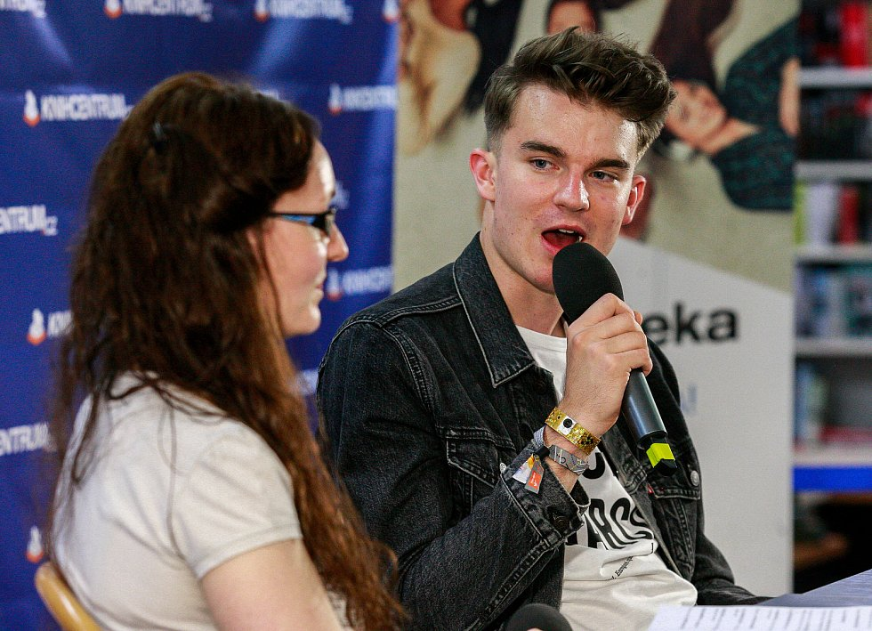 Youtuber Karel Kovář alias Kovy.