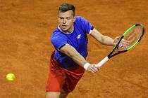 Davis Cup 2018 v Ostravě - Česko vs. Izrael, Adam Pavlásek