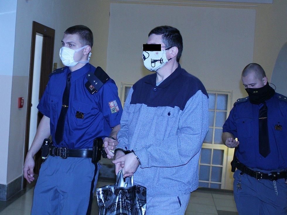 Pavel N. u ostravského soudu.