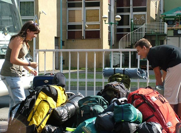 Skauti z Kopřivnice odjíždějí na Jabboree 2007