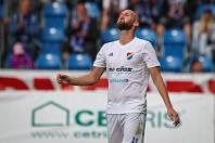 Tomáš Smola v dresu Baníku, utkání 1. kola první fotbalové ligy FC Baník Ostrava - FC Slovan Liberec, 13. července 2019 v Ostravě.