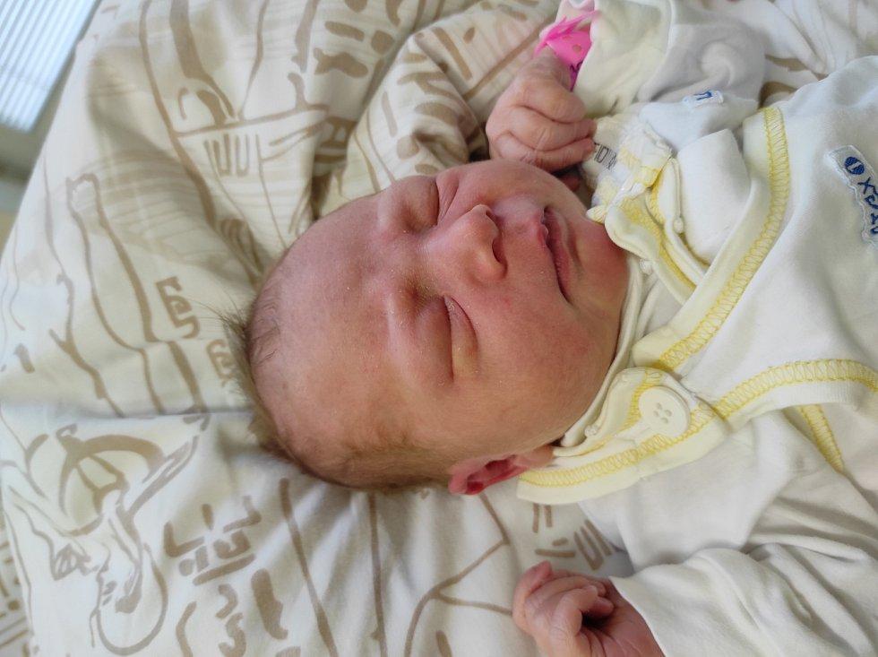 Jasmína Švehlová, Frýdek-Místek narozena 20. dubna 2021 míra 50 cm, váha 3560 g. Foto: Jana Březinová