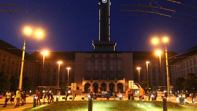 Bruslaři v sobotu kroužili centrem Ostravy