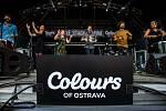 Hudební festival Colours of Ostrava 2019 v Dolní oblasti Vítkovice, 19. července 2019 v Ostravě.Na snímku skupina San Savlvádor.