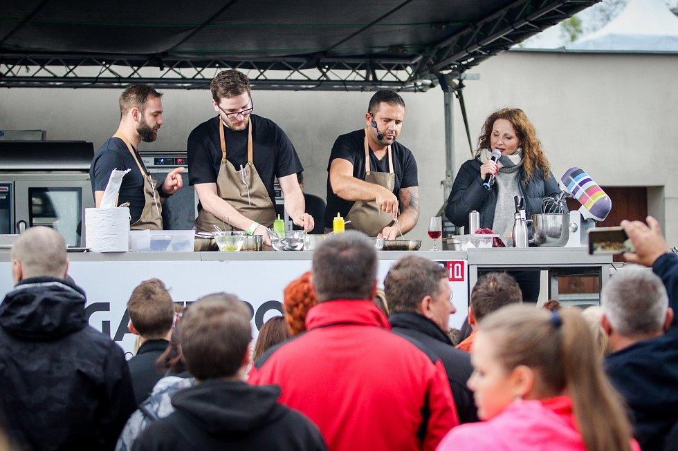 Garden Food Festival na Slezskoostravském hradě, 27. dubna 2019 v Ostravě. Na snímku Radek Kašpárek.
