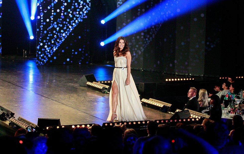 Vyhlášení české Miss 2018 v Gongu.Aneta Mitušinová