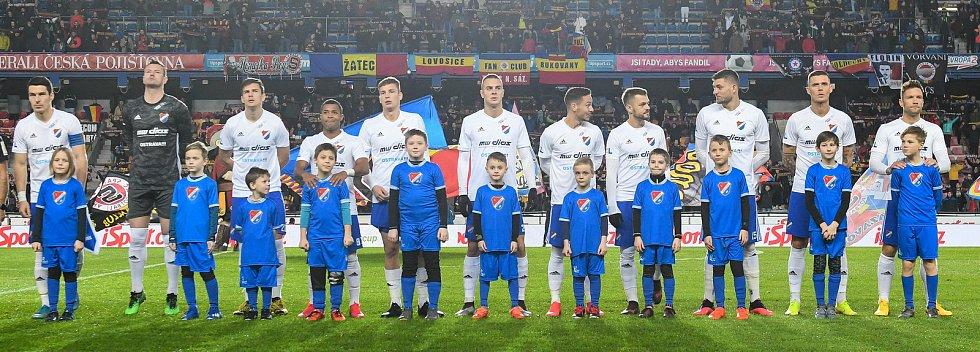Čtvrtfinále MOL Cup AC Sparta Praha - FC Baník Ostrava, Generali Česká pojišťovna Aréna, Praha, 4. března 2020 v Praze.