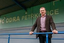 Předseda fotbalových Petřkovic Petr Tač.