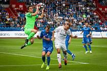 Utkání 1. kola FORTUNA:LIGY: FC Baník Ostrava - FC Slovan Liberec, 13. července 2019 v Ostravě.