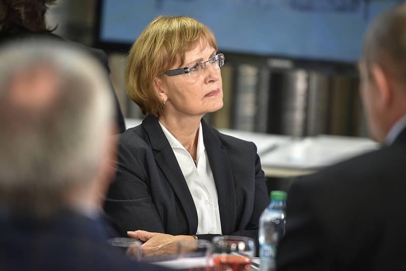 Setkání členů svazu průmyslu a dopravy ČR v Moravskoslezském kraji, 16. října 2018 v Ostravě.