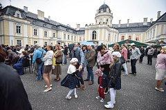 Pravý prvorepublikový večer na zámku v Šihleřovicích, 22. září 2018.