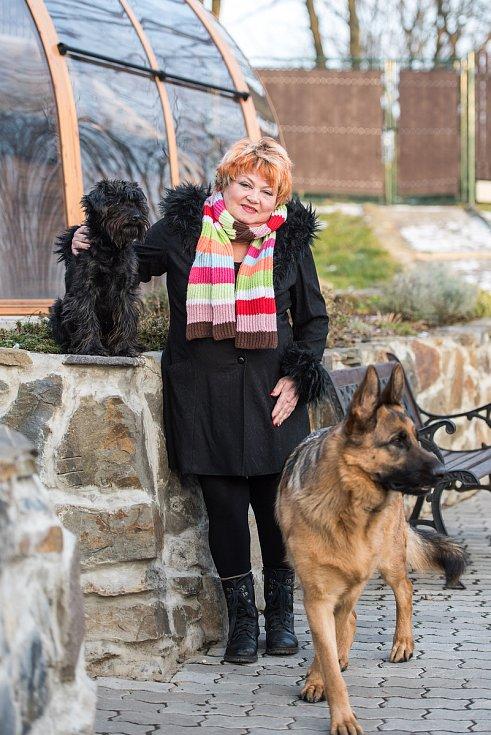 Věra Špinarová při posledním rozhovoru pro Deník, snímek ze dne 20.12.2016.