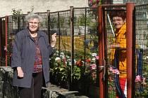 """Obyvatelé ulice Hálkovy v Ostravě-Přívoze si stěžují na zápach, který se line z některého z okolních podniků. Ze kterého se ale neví. """"Každopádně se tady nedá dýchat,"""" říká Božena Kubíková (na snímku vpravo)"""