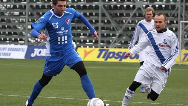Filip Racko, čerstvá posila Frýdku-Místku, odehrál v lize třiatřicet zápasů, ve kterých vstřelil čtyři góly.