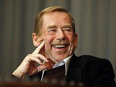 Dramatik a exprezident Václav Havel.